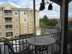 condo Vacation Rental balcony