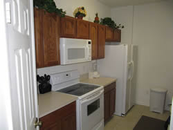condo Vacation Rental kitchen