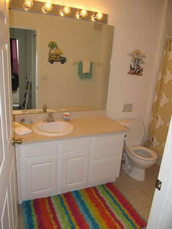 condo Vacation Rental bathroom