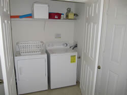 Condo Vacation Rental laundry room